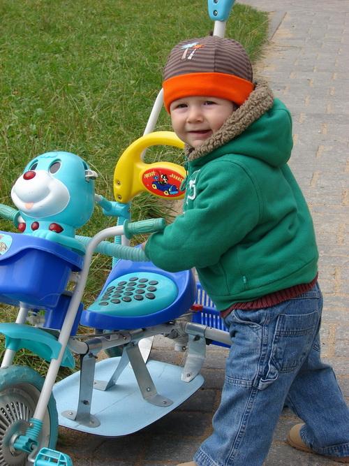 Велосипед спасло неумение на нем кататься... но это временно